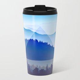 The Mountain Eye  Metal Travel Mug