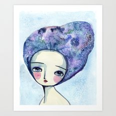 The Muse Of Winter Art Print