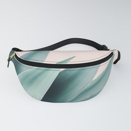 Agave flare II - peach Fanny Pack
