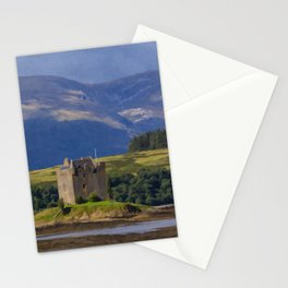 Castle Stalker Argyll, Scotland Stationery Cards
