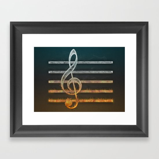 A Song of... Framed Art Print