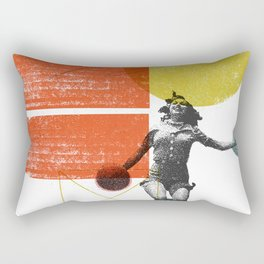"""Sunset Boulevard"" Art Print Rectangular Pillow"