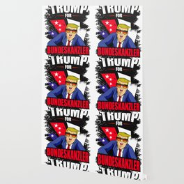 Trump for Federal Chancellor Lustig Politics Wallpaper