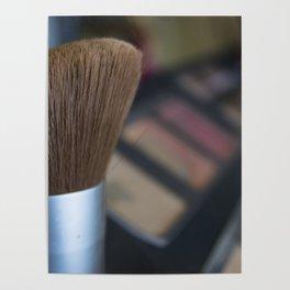 make up brush Poster