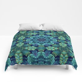 Leafy Green Comforters
