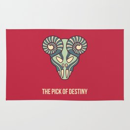 the pick of destiny Rug