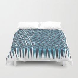 Cubist Ornament Pattern Duvet Cover