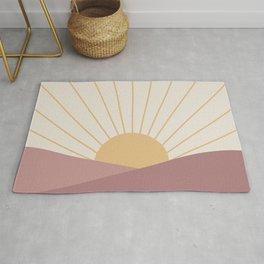 Morning Light - Pink Rug