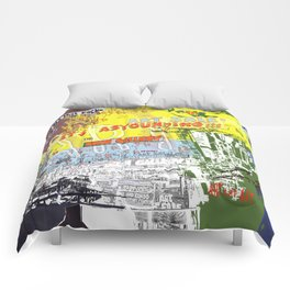 Art That Rocks Comforters