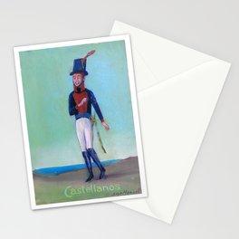 Soldado del Regimiento Castellanos Stationery Cards
