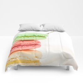 Macaron, Macarons, Macaroons, Tiny Silver Fork Comforters