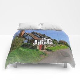 Chocolate Box Cottage Comforters