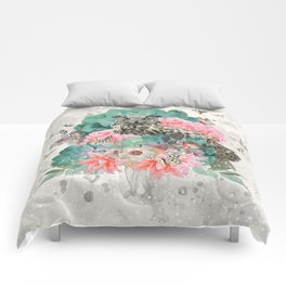 FLORAL OWL Comforters