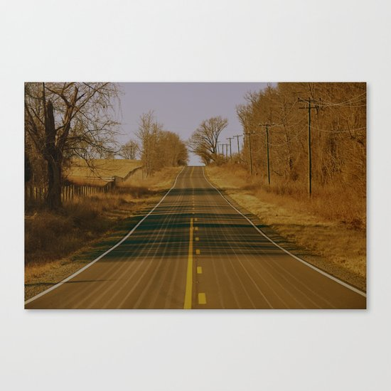 May the Road Rise to Meet You Canvas Print