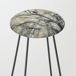 Raven's shelter II  (colour option) Counter Stool