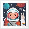 Astronaut Girl by beastybat