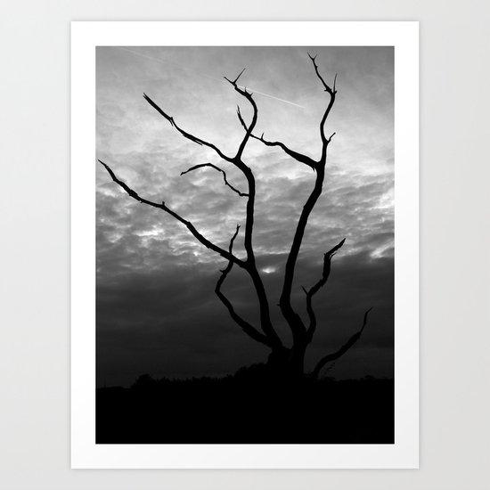 Skyquake Art Print
