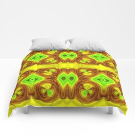 Brightly So Devils Pattern 1 Comforters