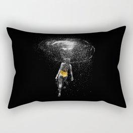 Black Water Rectangular Pillow