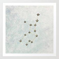 Virgo x Astrology x Zodiac Art Print