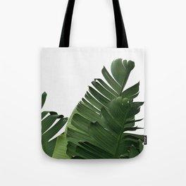 Minimal Banana Leaves Tote Bag