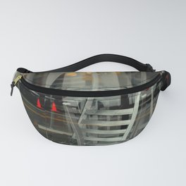 Caution, This Here's Earthquake Country Fanny Pack