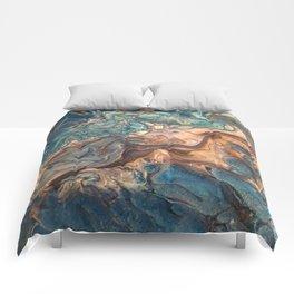 Running Water Comforters