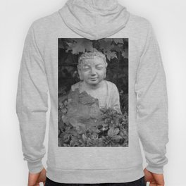 Buddha back and white Hoody