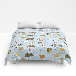 Guinea Pig Party! - Cavy Cuddles and Rodent Romance Comforters