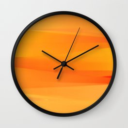 Laces of color III Wall Clock