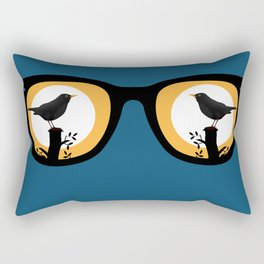 There's A Tern In My Eye Rectangular Pillow