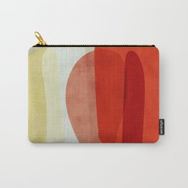 shapes modern abstract Carry-All Pouch