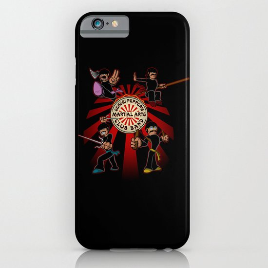 Sensei Pepper's Martial Arts Club Band iPhone & iPod Case