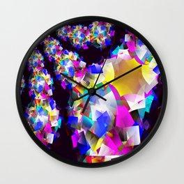 Spring Showering.... Wall Clock