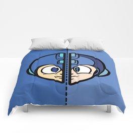 Old & New MegaMan Comforters