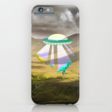 Aliens do exist - dino exctinction event iPhone 6s Slim Case