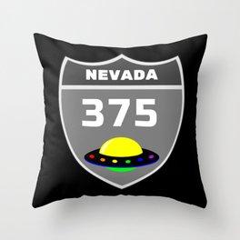 Nevada 375 Throw Pillow