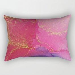 Colour puddle pink Rectangular Pillow