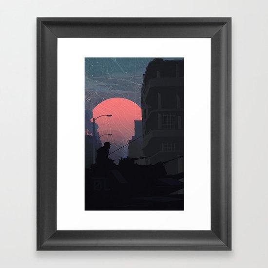 Fog of War Framed Art Print