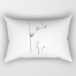 Demeter Moji d11 4-4 w Rectangular Pillow