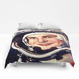 Rubino Valentina Tereshkova First Woman in Space Photo Comforters