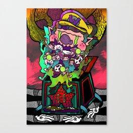 Invite Your Friends Canvas Print