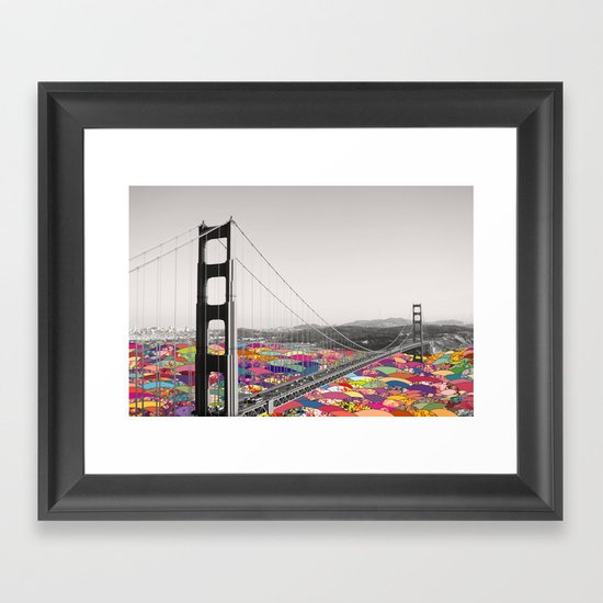 It's in the Water Framed Art Print