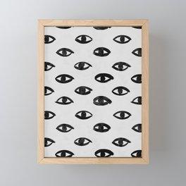 I SEE YOU Framed Mini Art Print