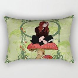 The Muse Rectangular Pillow