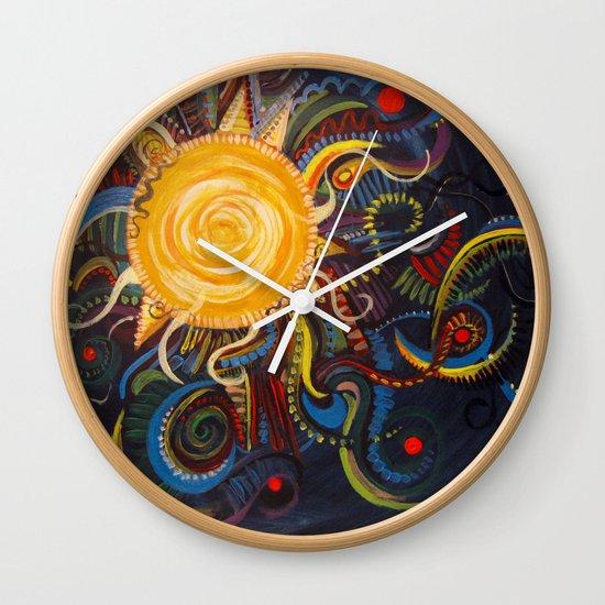 Coyote Moon Wall Clock