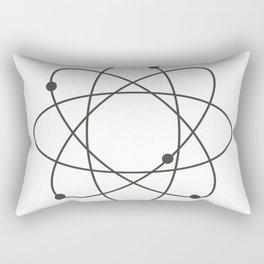 atom Rectangular Pillow