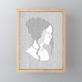 Pride and Prejudice Framed Mini Art Print