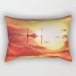 Tie Fighters Rectangular Pillow