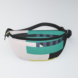 MidMod Shapes (series 3) Night Fanny Pack